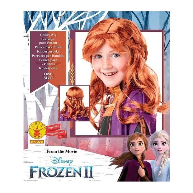 Peluca Anna Frozen 2 infantil